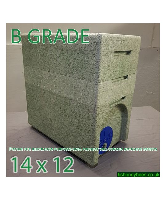 National 2 in 1 Poly Nuc Box (14x12) B GRADE