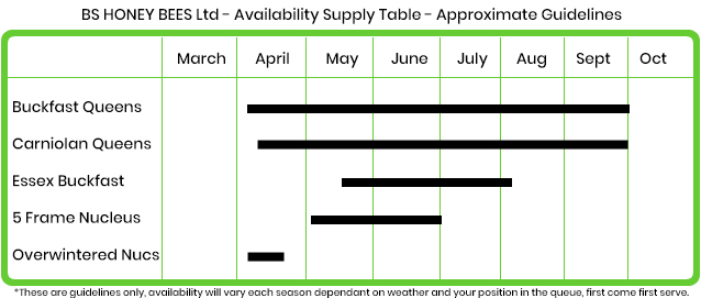 Product Availability Timescale